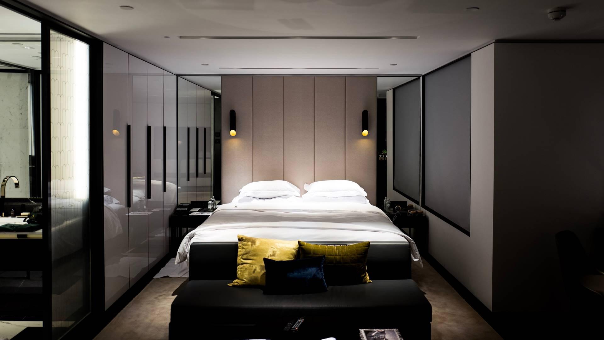 Hálószoba beépített szekrény